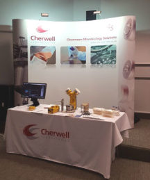 PHSS 2016 annual conference Cherwell Laboratories Stand