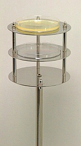 petri dish and contact plate stand