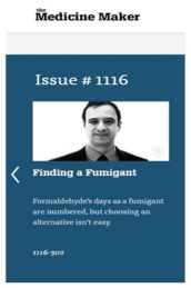 Finding a fumigant article in The Medicine Maker